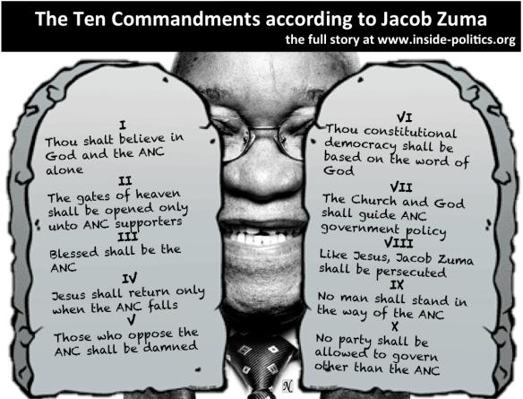 list the ten commandments of public speech
